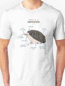 Anatomy of a Hedgehog Unisex T-Shirt