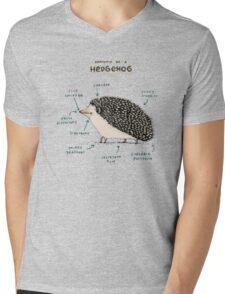 Anatomy of a Hedgehog Mens V-Neck T-Shirt