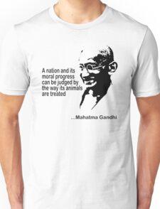 Gandhi Animal Rights T-Shirt Unisex T-Shirt