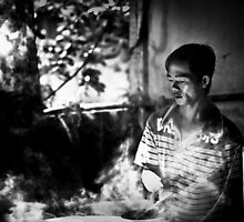 Vietnam - Rice Paper Factory by Chris Bishop