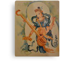 Saraswati: Goddess of Wisdom Metal Print