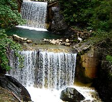 Waterfalls in Austria by A. Kakuk