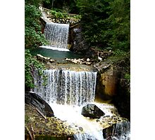 Waterfalls in Austria Photographic Print