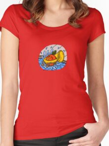 Mike's Brass Mascot Women's Fitted Scoop T-Shirt
