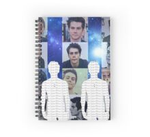 Dylan O'Brien Spiral Notebook