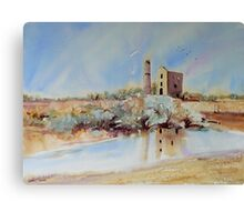 The Engine House, Moonta Canvas Print