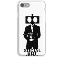 Social Bot 73XT Laser Agent iPhone Case/Skin