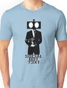 Social Bot 73XT Laser Agent Unisex T-Shirt