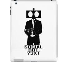 Social Bot 73XT Laser Agent iPad Case/Skin
