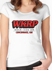 WKRP In Cincinnati T-Shirt Women's Fitted Scoop T-Shirt