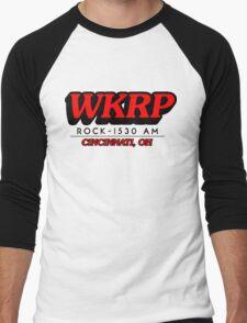 WKRP In Cincinnati T-Shirt Men's Baseball ¾ T-Shirt