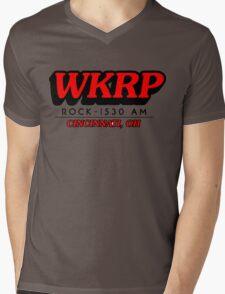 WKRP In Cincinnati T-Shirt Mens V-Neck T-Shirt