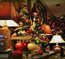 Christmas Display by Heather A McGhee