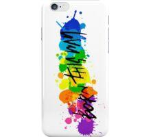 Born Artists - Black Version iPhone Case/Skin