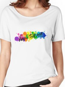 Born Artists - Black Version Women's Relaxed Fit T-Shirt