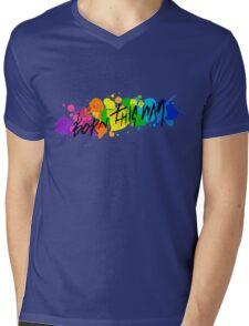 Born Artists - Black Version Mens V-Neck T-Shirt