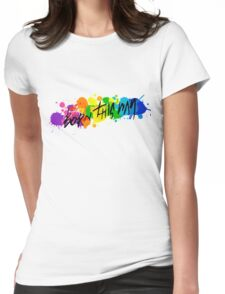 Born Artists - Black Version Womens Fitted T-Shirt