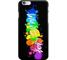 Born To Be Artists (Version 2) iPhone Case/Skin