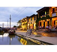 Vietnam - Sunset in Hoi-Ann Photographic Print