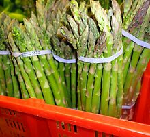 Asparagus greens by amak