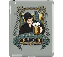 As You Wish Ale iPad Case/Skin
