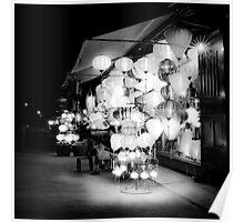 Vietnam - Lanterns in Hoi-Ann Poster
