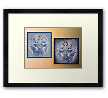 Good Cat, Bad Cat. Framed Print