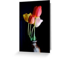 TULIPS 2012 Greeting Card