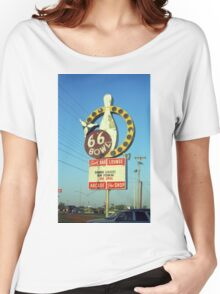 Route 66 Bowl Women's Relaxed Fit T-Shirt