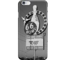 Route 66 Bowl iPhone Case/Skin