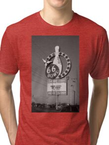 Route 66 Bowl Tri-blend T-Shirt