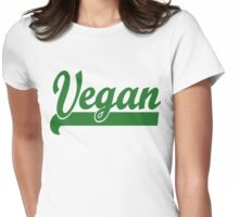 Vegan T-Shirt Womens Fitted T-Shirt
