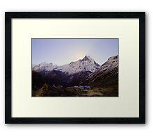 Annapurna Base Camp, Nepal. Framed Print