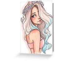 Mermaid Hair Greeting Card