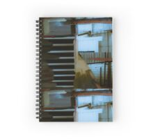 Industrial Mixed Media 5 Spiral Notebook
