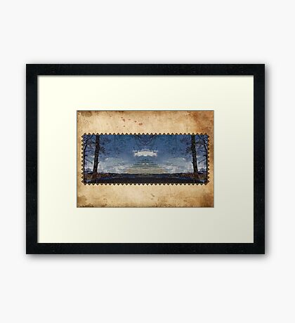 The Conspiracy. Framed Print