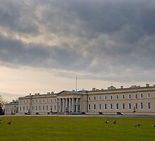 Old College RMA Sandhurst by Steve Woods