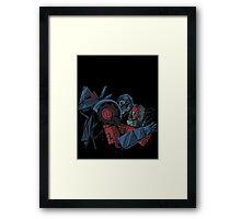 Skids&Swerve Framed Print