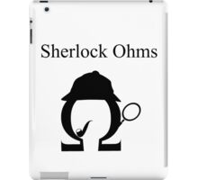 Sherlock Ohms iPad Case/Skin