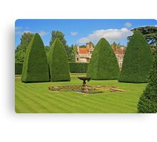 Great Court Garden, Athelhampton Canvas Print