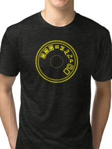 Camera Mode Dial Tri-blend T-Shirt