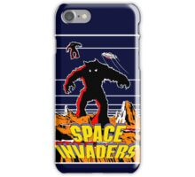 Invaders from space iPhone Case/Skin