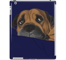 Boss the dog iPad Case/Skin