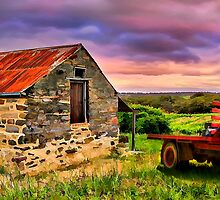 Flaxmans Valley Panorama by Shannon Rogers