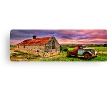 Flaxmans Valley Panorama Canvas Print
