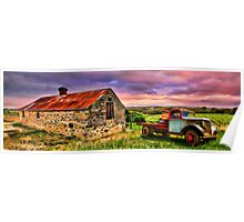 Flaxmans Valley Panorama Poster