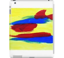 Abstract in Primary iPad Case/Skin