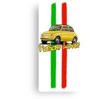Fiat 500 Italian Lover Canvas Print