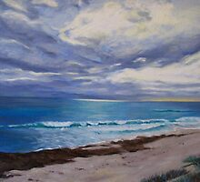 Rainclouds over Cottesloe by Brita Lee