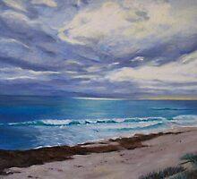 Rainclouds over Cottesloe by Brita Lee